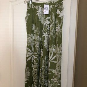 Patrons of Peace Wide-Legged Pants NWT